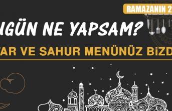Ramazanın Yirmi Birinci Gününde Elazığlılara Özel Yemek Menüsü
