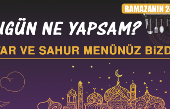 Ramazanın Yirmi Dördüncü Gününde Elazığlılara Özel Menü