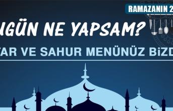 Ramazanın Yirmi Üçüncü Gününde Elazığlılara Özel Yemek Menüsü
