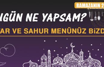Ramazanın Yirmi Yedinci Gününde Elazığlılara Özel Yemek Menüsü