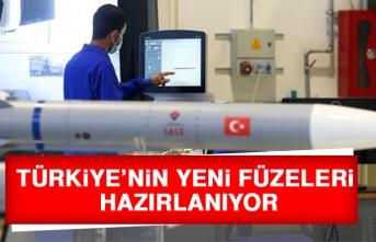 Türkiye'nin Yeni Füzeleri Hazırlanıyor