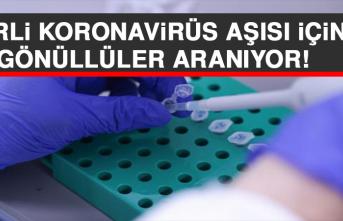 Yerli Koronavirüs Aşısı İçin Gönüllüler Aranıyor