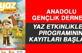 AGD Yaz Etkinlikleri Programının Kayıtları Başladı