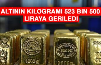 Altının Kilogramı 523 Bin 500 Liraya Geriledi