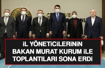 Bakan Murat Kurum ile Yapılan Toplantı Sona Erdi