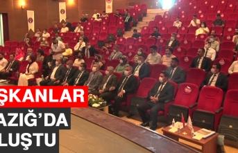 Başkanlar Elazığ'da Buluştu