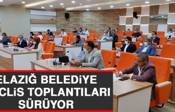 Elazığ Belediye Meclis Toplantıları Sürüyor