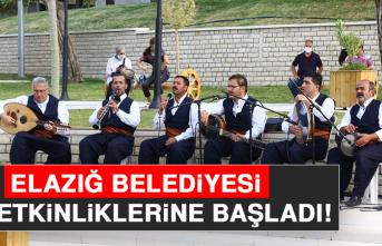 Elazığ Belediyesi, Yaz Etkinliklerine Başladı
