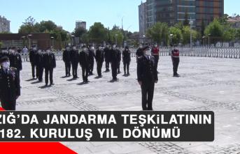Elazığ'da Jandarma Teşkilatının 182. Kuruluş Yıl Dönümü