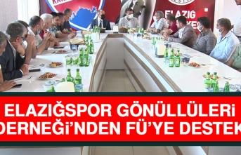 Elazığspor Gönüllüleri Derneği'nden FÜ'ye Destek