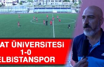 Fırat Üniversitesi 1-0 Elbistanspor