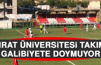 Fırat Üniversitesi Takımı Galibiyete Doymuyor