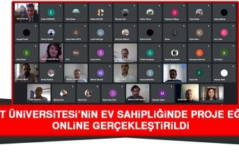 Fırat Üniversitesi'nin Ev Sahipliğinde Proje Eğitimi Online Gerçekleştirildi