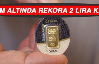Gram Altında Rekora 2 Lira Kaldı