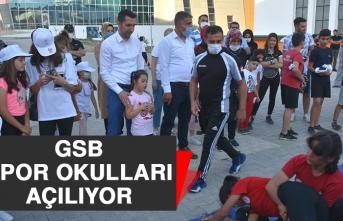 GSB Spor Okulları Açılıyor