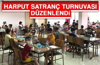 Harput Satranç Turnuvası Düzenlendi