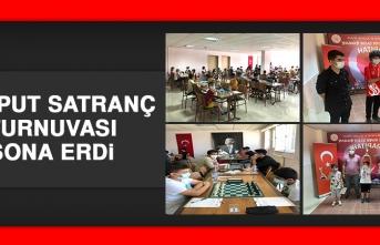 Harput Satranç Turnuvası Sona Erdi