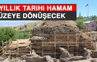 Harput'taki 387 Yıllık Tarihi Hamam Müzeye Dönüşecek