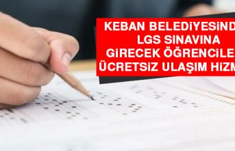 Keban'da LGS Sınavına Girecek Öğrencilere Ücretsiz Ulaşım Hizmeti