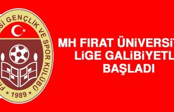 MH Fırat Üniversitesi Lige Galibiyetle Başladı