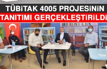 TÜBİTAK 4005 Projesinin Tanıtımı Gerçekleştirildi