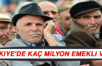 Türkiye'de Kaç Milyon Emekli Var?