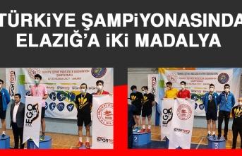Türkiye Şampiyonasında Elazığ'a İki Madalya