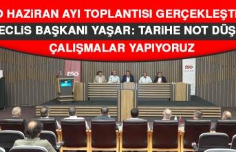 Yaşar: Tarihe Not Düşen Çalışmalar Yapıyoruz