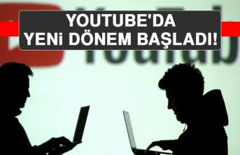 Youtube'da Yeni Dönem Başladı!