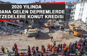 2020 Yılında Meydana Gelen Depremlerde Afetzedelere Konut Kredisi