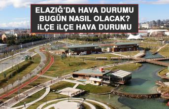 27 Temmuz'da Elazığ'da Hava Durumu Nasıl Olacak?