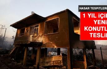 2 Bin 300 Yapı Yangından Etkilendi