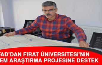 AFAD'dan Fırat Üniversitesi'nin Deprem Araştırma Projesine Destek