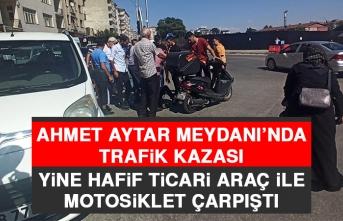 Ahmet Aytar Meydanı'nda Trafik Kazası