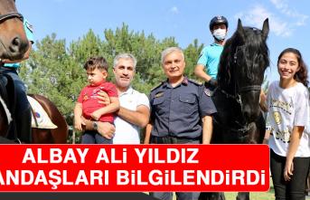 Albay Ali Yıldız, Vatandaşları Bilgilendirdi