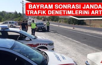 Bayram Sonrası Jandarma, Trafik Denetimlerini Arttırdı