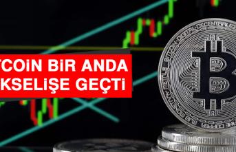 Bitcoin Bir Anda Yükselişe Geçti