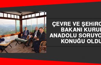 Çevre ve Şehircilik Bakanı Kurum, Anadolu Soruyor'un Konuğu Oldu
