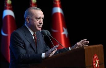 Cumhurbaşkanı Erdoğan: Bize insan hakları nasihati verenlerin utanç lekeleri ortaya dökülüyor