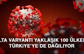 Delta Varyantı Yaklaşık 100 Ülkede! Türkiye'de de Dağılıyor