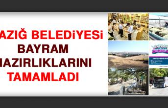 Elazığ Belediyesi Bayram Hazırlıklarını Tamamladı