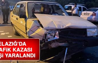 Elazığ'da Meydana Gelen Kazada 2 Kişi Yaralandı
