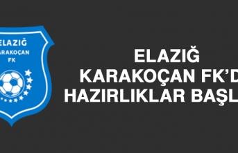 Elazığ Karakoçan FK'da Hazırlıklar Başladı