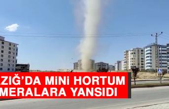 Elazığ'da Mini Hortum Kameralara Yansıdı