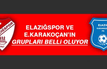 Elazığspor ve E.Karakoçan'ın Grupları Belli Oluyor