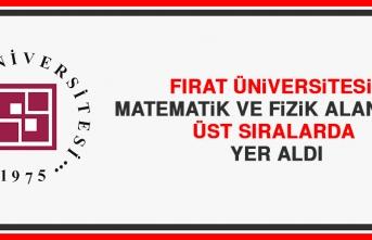 Fırat Üniversitesi Matematik ve Fizik Alanında Üst Sıralarda Yer Aldı