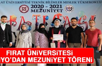 Fırat Üniversitesi TBMYO'dan, Mezuniyet Töreni