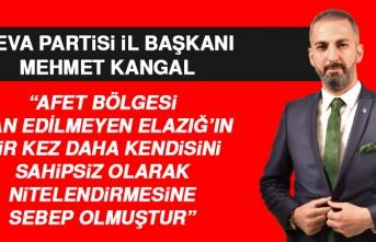 İl Başkanı Kangal: Artık Vatandaşımız Sorgulamaya Başlamıştır