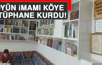 Köyün İmamı, Köye Kütüphane Kurdu