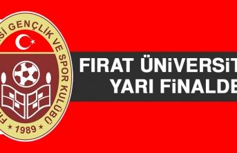MH Fırat Üniversitesi, Yarı Finalde